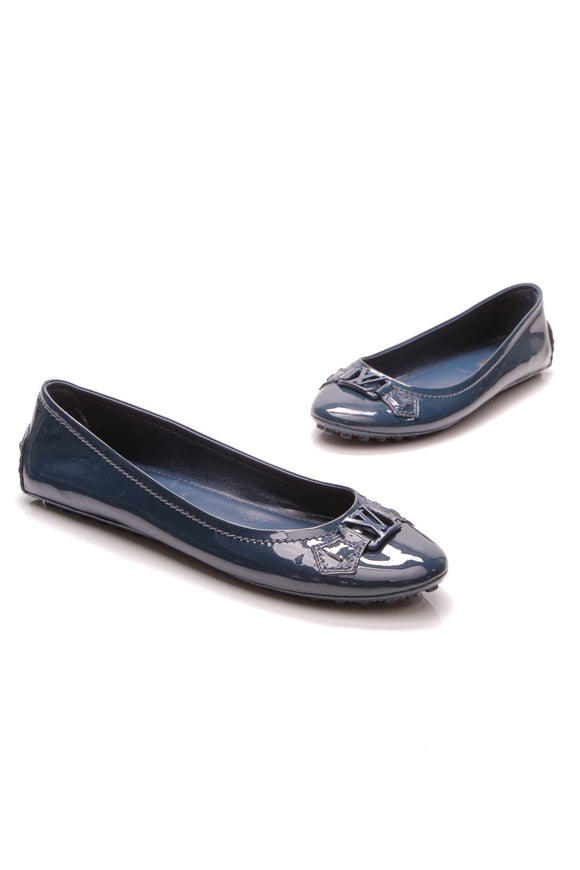 Louis Vuitton Oxford Ballerina Flats Blue