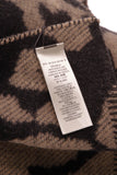 Burberry Animal Jacquard Blanket Scarf Camel