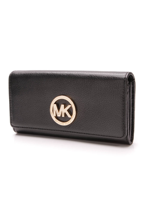 Michael Kors Fulton Wallet Black