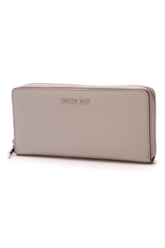 Michael Kors Jet Set Travel Continental Wallet Gray