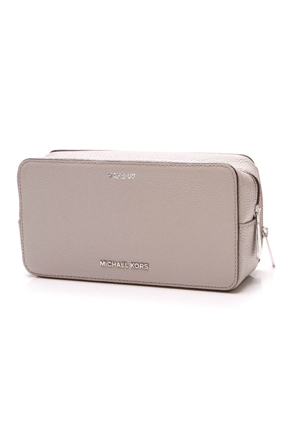 Michael Kors Mercer Cosmetic Pouch Gray