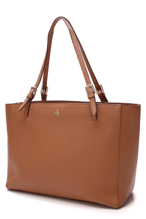 Tory Burch York Buckle Tote Bag Brown