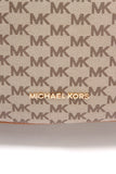 Michael Kors Jet Set Large Convertible Bag PVC Brown