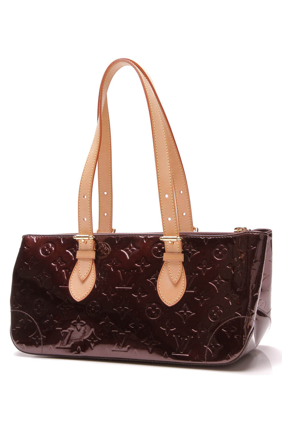 Louis Vuitton Rosewood Ave Bag Amarante Vernis Burgundy