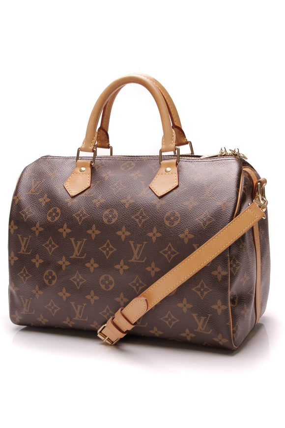 Louis Vuitton Speedy Bandouliere 30 Bag Monogram Brown