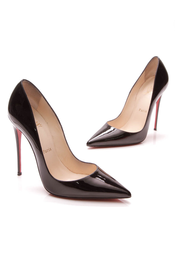 Christian Louboutin So Kate Pumps Black Size 38.5