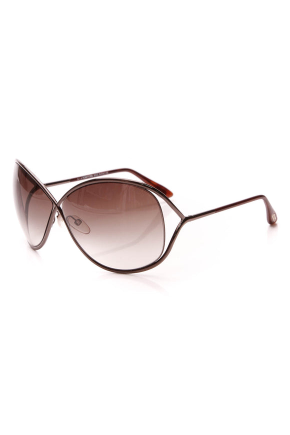 Tom ford Miranda Oversized Square Sunglasses TF130 Bronze