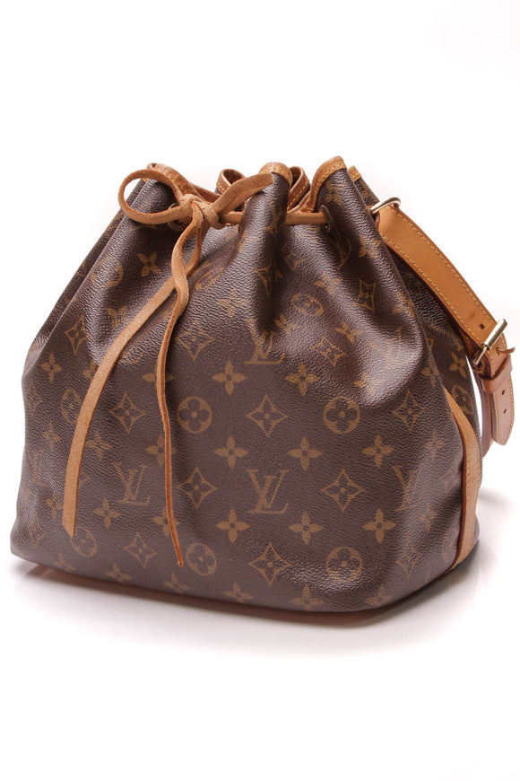 Louis Vuitton Petit Noe Bag Monogram Brown