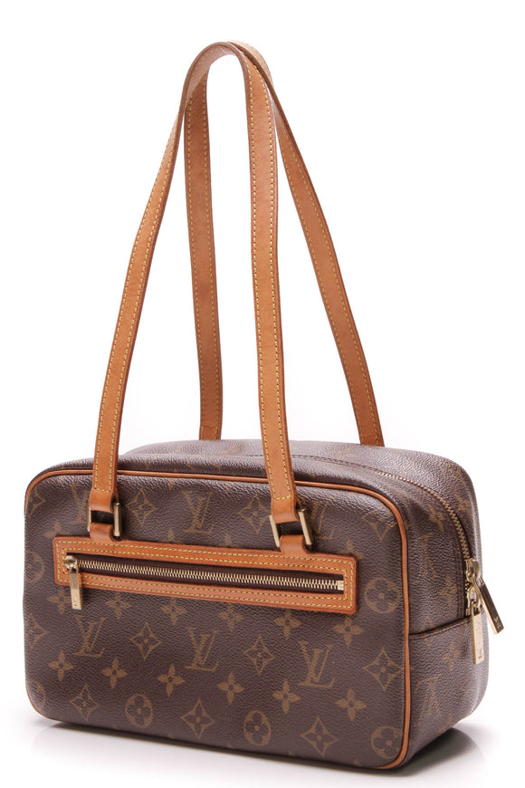 Louis Vuitton Cite MM Bag Monogram Brown