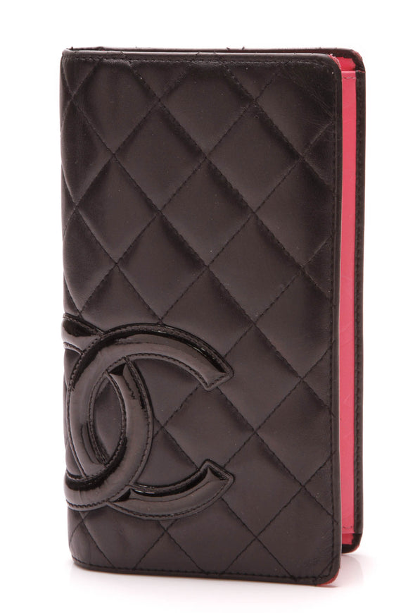 Chanel Cambon Wallet Black