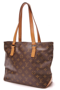 Louis Vuitton Cabas Piano Tote Bag Monogram Canvas Brown