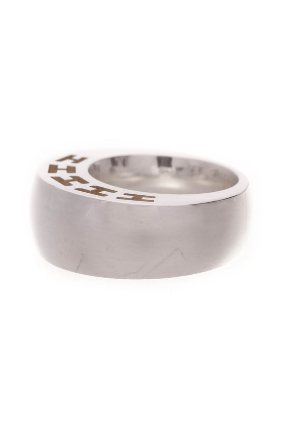 Hermes Clarte Ring Silver Size 6.25