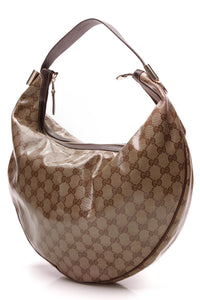 Gucci Medium Duchessa Hobo Bag Crystal Canvas
