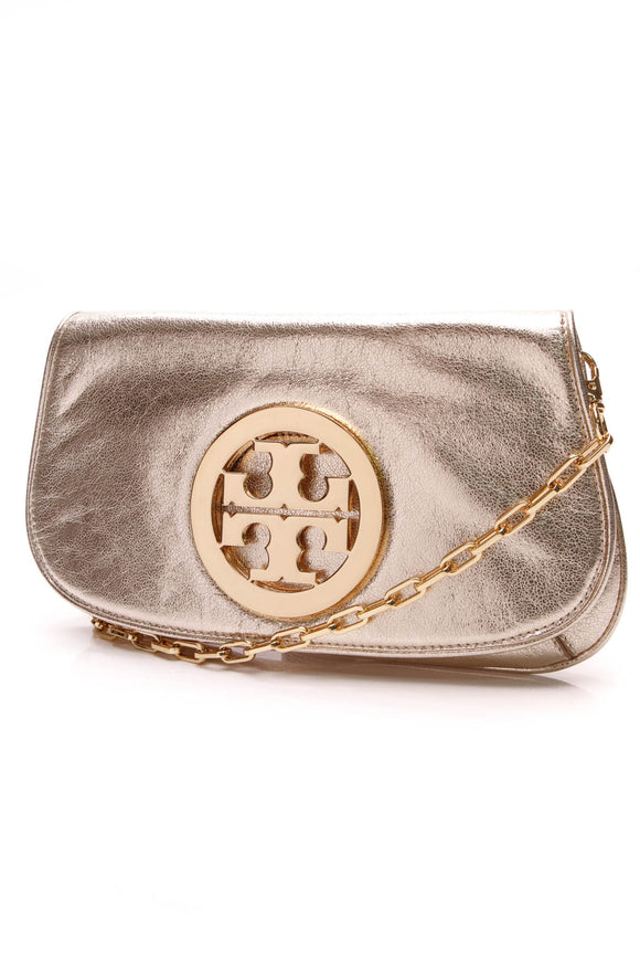 Tory Burch Amanda Crossbody Bag Gold