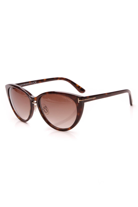 Tom Ford Gina Sunglasses TF345 Tortoise
