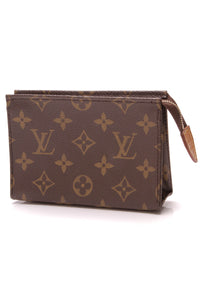 Louis Vuitton Toiletry Pouch 15 Monogram Brown