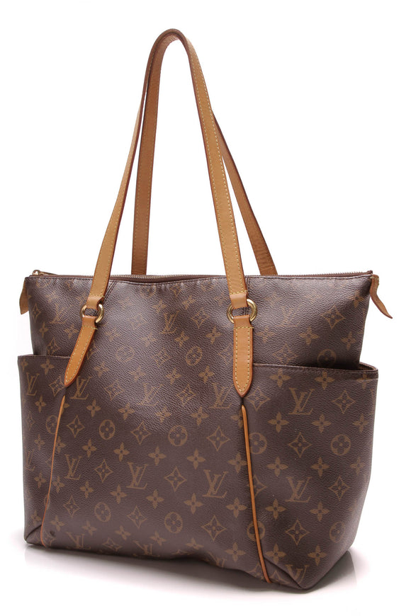 Louis Vuitton Totally MM Tote Bag Monogram Brown