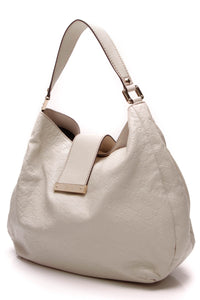 Gucci New Web Hobo Bag Ivory Guccissima