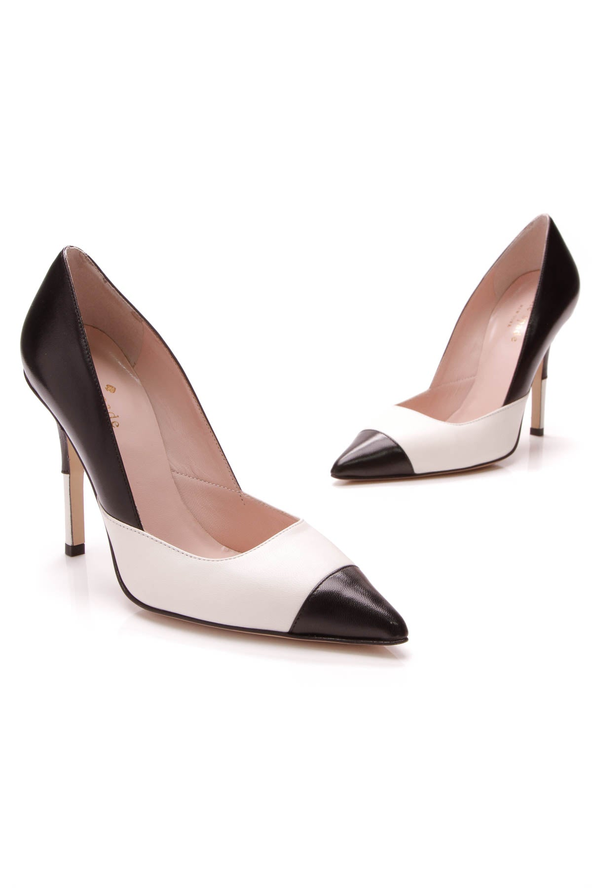 7f2902bd9f15 Kate Spade Lentica Pumps - Black Ivory Size 5 – Couture USA