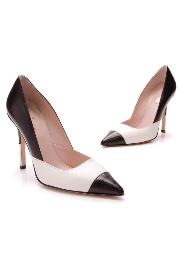 Kate Spade Lentica Pumps Black Ivory Size 5