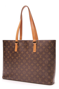 Louis Vuitton Luco Tote Bag Monogram Brown