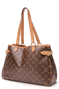 Louis Vuitton Batignolles Horizontal Bag Monogram Canvas Brown