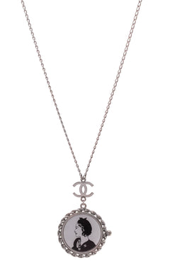 37a8fa3816b Coco Pendant Necklace - Gunmetal