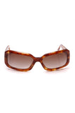 Chanel Rectangular Charms Sunglasses 5142 Tortoise