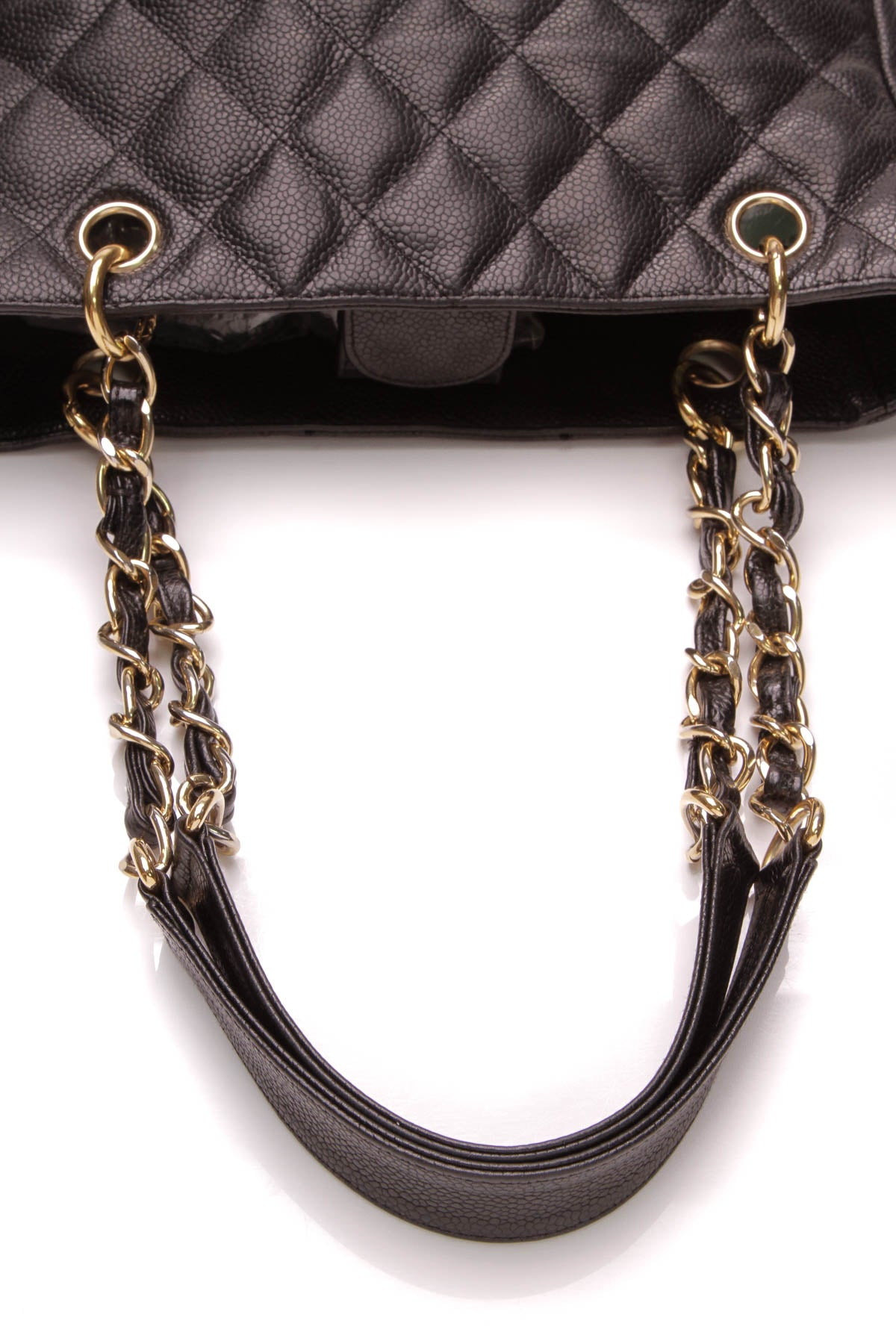 31a792af5f73 Chanel PST Petite Shopping Tote Bag - Black – Couture USA