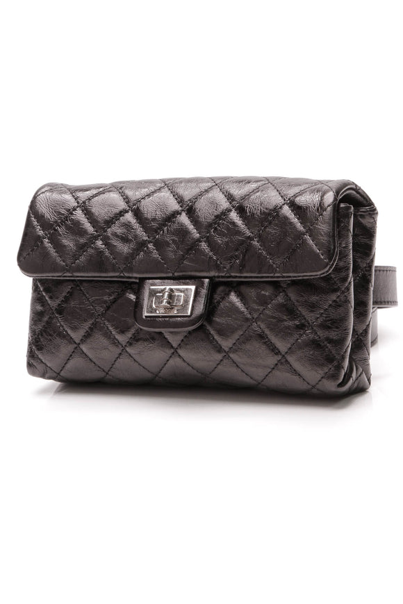 Chanel 2.55 Reissue Flap Belt Bag Black