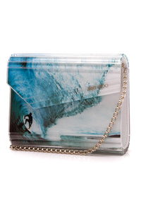 Jimmy Choo Candy Crossbody Bag Multicolor Blue