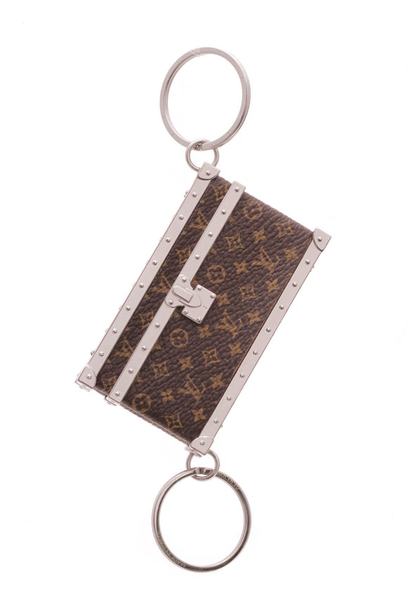 Louis Vuitton Toi & Moi Trunk Key Holder Monogram Brown