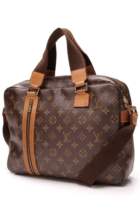 Louis Vuitton Sac Bosphore Messenger Monogram Brown