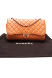 Chanel Drawstring Flap Bag Orange