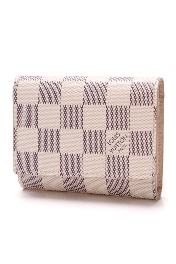 Louis Vuitton Business Card Holder Damier Azur