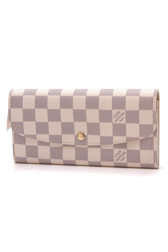 Louis Vuitton Emilie Wallet Damier Azur