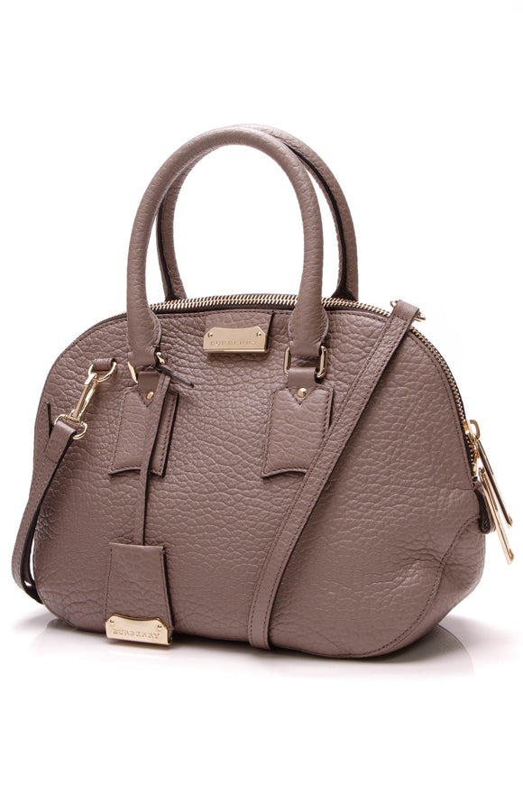 Burberry Small Orchard Satchel Bag Taupe
