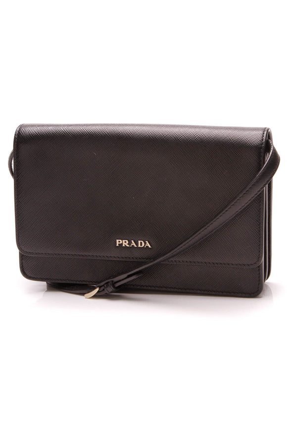 Prada Mini Crossbody Bag Black