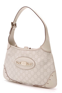 Gucci Punch Hobo Bag White Guccissima