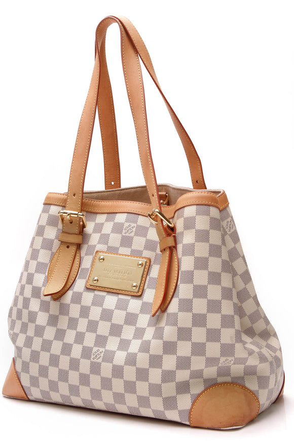 Louis Vuitton Hampstead MM Bag Damier Azur