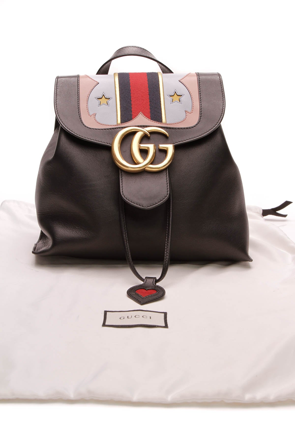05e387a95609 Gucci GG Marmont Backpack - Black – Couture USA