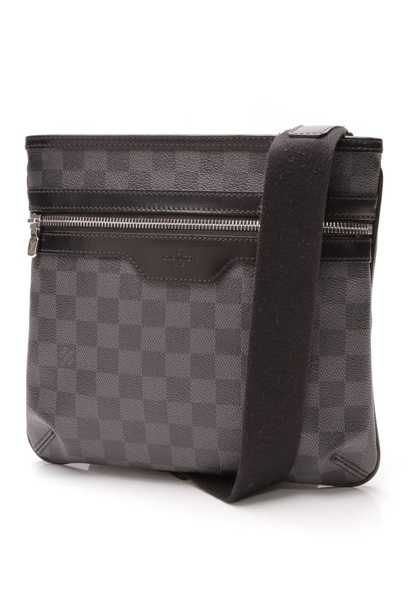 Louis Vuitton Thomas Messenger Bag Damier Graphite Gray