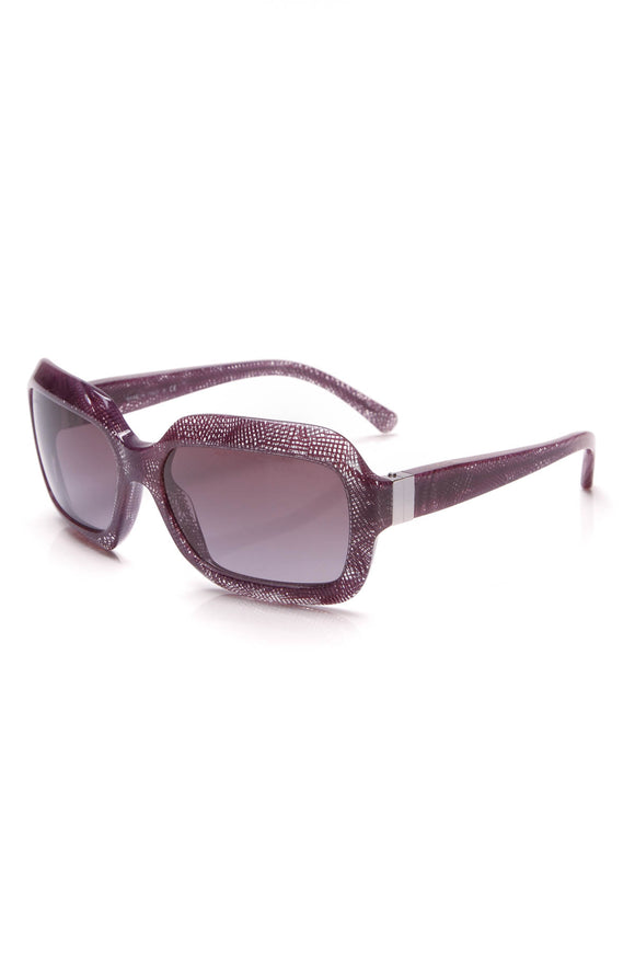 Chanel Lace Print Sunglasses 5155 Purple