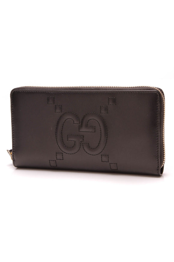 Gucci GG Apollo Zip Wallet Black