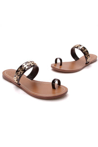Tory Burch Val Sandals Black Size 5