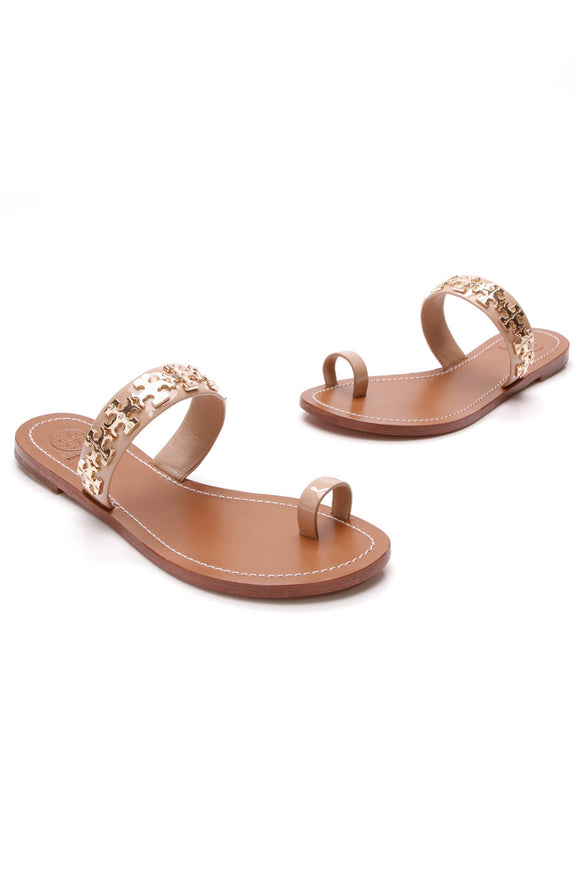 Tory Burch Val Sandals Nude Size 5