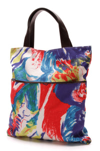 Marni Canvas Tote Bag Multicolor