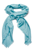 Louis Vuitton Monogram Shawl Scarf Turquoise