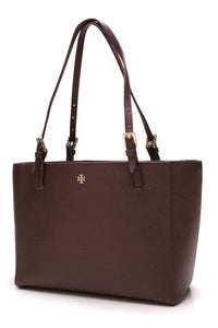 Tory Burch York Emerson Tote Bag Brown