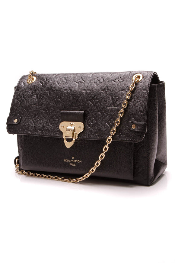Louis Vuitton Empreinte Vavin MM Bag Noir Black